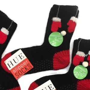 HUE Slipper Socks Winter Christmas Cozy Slippers